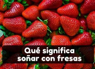 significado soñar con fresas