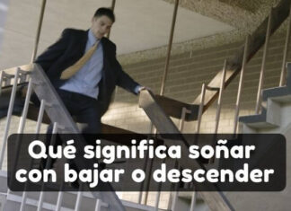 ver en sueños que bajas unas escaleras