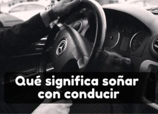 Verte conduciendo en sueños