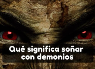 ver demonios en sueños
