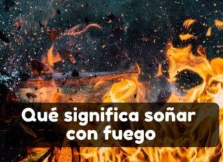 Ver fuego en sueños