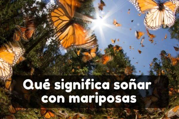 Ver mariposas en sueños