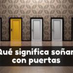 Ver puertas en sueños