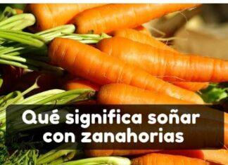 soñar con zanahorias significado