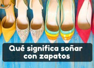 Ver en sueños zapatos