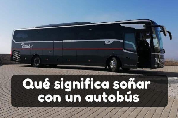 soñar con autobús significado