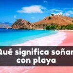 soñar con una playa