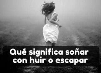 soñar con huir o escapar significado
