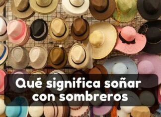 Ver sombreros en sueños