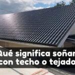 soñar con techo significado