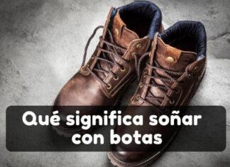 Qué significa soñar con botas