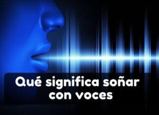 Qué significa soñar con una voz