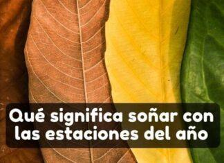 Significado de soñar con la primavera, verano, otoño o invierno