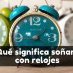 qué significa soñar con un reloj