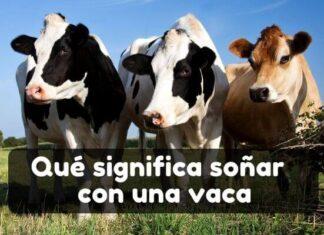 qué significa soñar con vacas